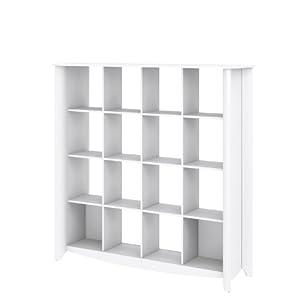 BUSH FURNITURE Bush Furniture Aero 16-Cube Bookcase/Room ...