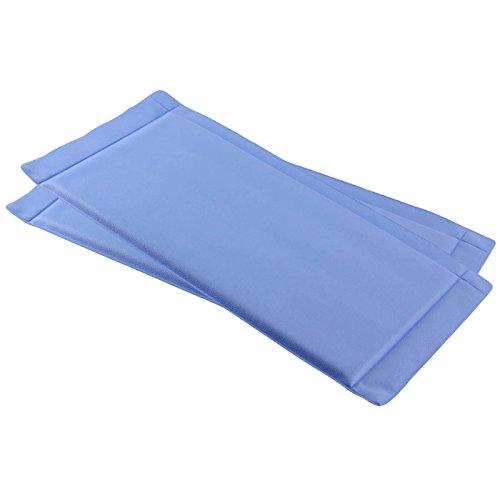 Spares2go Lot de 2 tapis de réfrigérateur ou congélateur résistant pour éviter l'accumulation de gel & glace