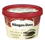 ハーゲンダッツ クッキー&クリーム 120ml ×6個 (冷凍)