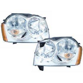 Jeep Grand Cherokee Headlights OE Style Replacement Headlamps Driver/Passenge…