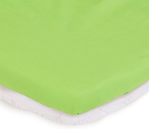 aBaby Bassinet Mattress Protector and Sheet Combo, Green App