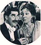 Margaret Dumont and Grouch Marx True Romance Keychain