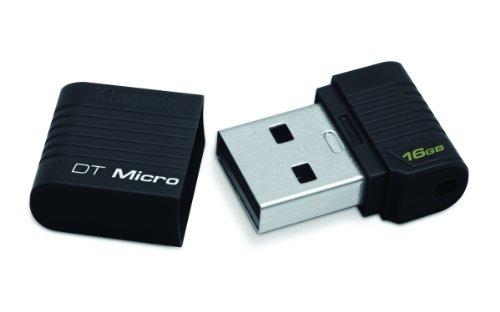 Shopping!: Kingston Technology DataTraveler Micro - Memoria USB (16 GB, USB 2.0, Tapa, 25.6 mm, 16.7 mm, 8.4 mm)