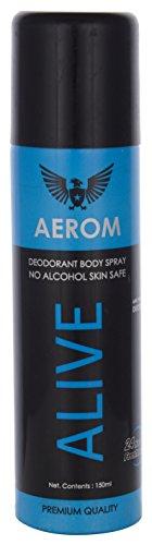 Aerom Alive Deodorant Body Spray, 150 Ml