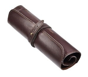 Amazon.com : Cosmos Brown PU Leather Vintage Rollup Style