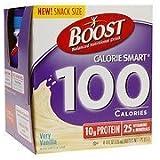 Boost Calorie Smart 100 Calorie Balanced Nutritional Drink, 4 Pk, Very Vanilla, 4 Oz