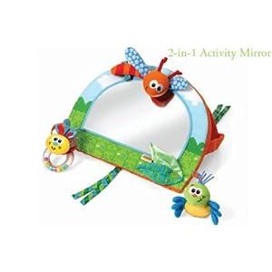 Infantino 2 in 1 Baby Activity Mirror