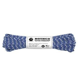 Rothco 550lb. Type III 100 ft Blue Camo