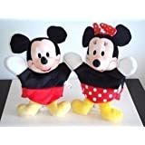 Disney Mickey And Minnie Mouse Plush Hand Puppets