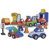 Vehicle Car Bricks Building Block Kids Construction Toy Set Of 80- 100 Pcs