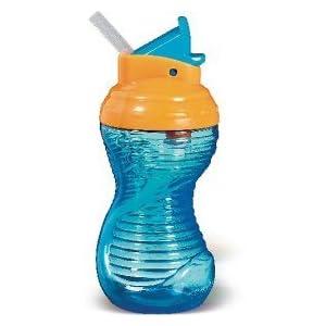 Munchkin Mighty Grip 10 Oz Flip Straw Cup