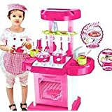 Dream Enterprise Kitchen Set Kids Luxury Battery Operated Kitchen Super Set Toy