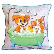 Swayam Kids N More Digital Print Mercerised Cotton Kids Cushion Cover Set - Multicolor (KCC 162-110)