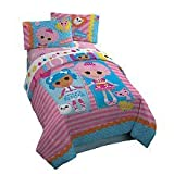 Lalaloopsy Twin Comforter Set Includes Comforter Pillow Sham & Bedskirt