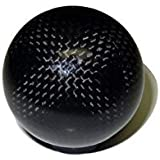 VMS Racing 12x1. 25mm THREADED (NO Adapters) 5 Speed Round Ball Type-R Type-S In Real Hand-Laid Carbon Fiber Selector Shift Knob For Subaru Impreza WRX STI RS Forester Legacy Outback JDM Gear Shifter Selector