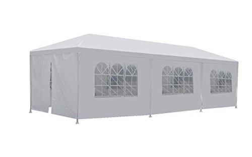 New 10'x30' White Outdoor Gazebo Canopy Wedding Party Tent 8