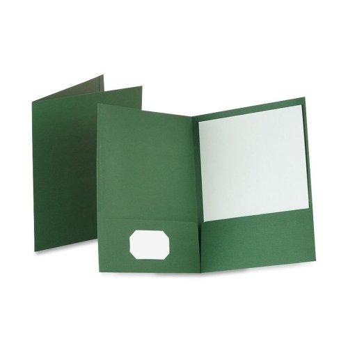 Oxford Linen Twin Pocket Portfolio