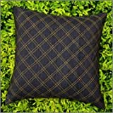 Cushion Casa Cushion Covers (Black) - B00NMC6Z7A