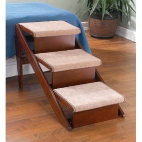 Amazon.com : Dog Steps and Ramp (3 Steps) : Pet Stairs