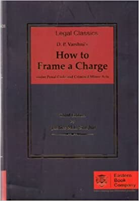 How to Frame a Charge under Penal Code and Criminal Minor Acts