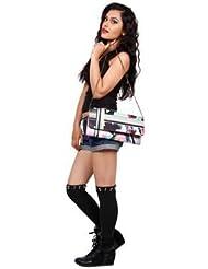 Digitally Printed Multi Stylish Loung Clutch Fashion/Carry Bags With Multi Pocket - B01IBJX7GA