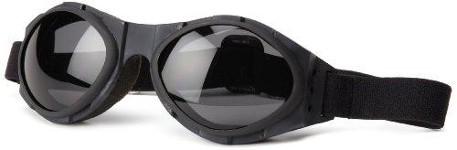Bobster Bugeye Goggles,Black Frame/Smoked Lens