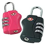 DIY CraftsGifts2GiftTSA Suitcase Security 3 Combination Lock Travel Luggage Lock
