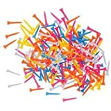 Alcoa Prime 200pcs Plastic Golf Tees Mixed Color GOLF TEES Traning Aid Tool - 54mm