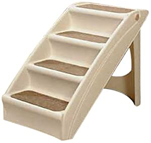 Dog Stairs : Amazon.com: Solvit PupSTEP Plus Pet Stairs