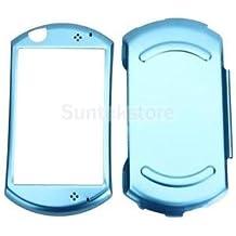 Aairah Works Protective Metallic Aluminum Hard Skin Case Cover For Sony PSP GO PSPGO Blue New