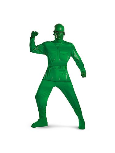 Halloween 2017 Disney Costumes Plus Size & Standard Women's Costume Characters - Women's Costume Characters Disney's Toy Story - Green Army Man Deluxe Plus Size Costume
