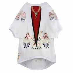 Elvis Presley Dog T-Shirt Jumpsuit