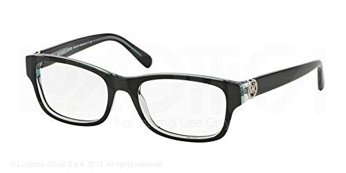Michael Kors Ravenna Eyeglasses MK8001 3001 Black/Blue 53 18 140