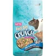 Kaytee Forti-Diet Crunch w/Dental Bites Rat & Mouse (3 lbs.)