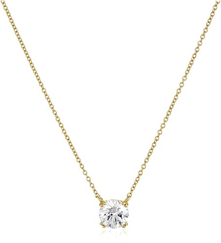 Top recommendation for solitaire necklace yellow gold