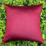 Cushion Casa Cushion Covers (Maroon)