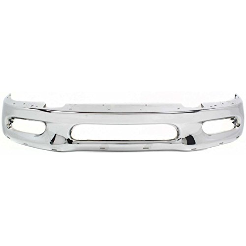 Make Auto Parts Manufacturing – Bumper Front Chrome F150 Truck F250 Ford F-150 F-250 – FO1002338