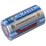 12 Pcs Tenergy Sub C 4700mah High Capacity Platinum Rechargeable Batteries For Making Rc Toys, Electrical Guns...