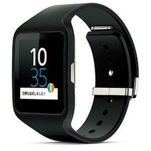 ソニー Bluetooth4.0 リストバンド型活動量計 ブラックSONY SmartWatch 3 SWR50-B