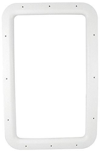 Valterra A77010 Nu Tru White Carded Interior Entrance Door Window Frame