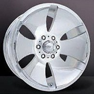 Ultra Rogue 17 Black Wheel / Rim 8×6.5 with a 19mm Offset and a 130 Hub Bore. Partnumber 175-7882B