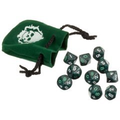 Changeling the Lost Green Dice Set