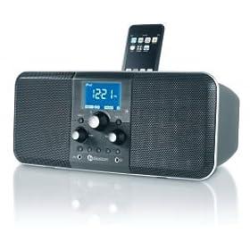 Boston Acoustics Horizon Duo-I Clock Radio w/ iPod Dock (Midnight)