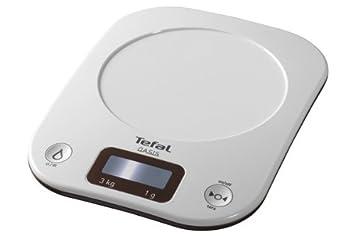 Tefal Bc 3007 H 0 Balance De Cuisine Tare Automatique 3 Kg Blanc