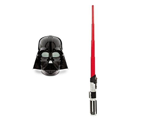 Star Wars Rogue One Darth Vader Voice Changing Mask With Extendable Lightsaber