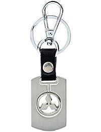 Parrk Mitsubishi Metal Keychain