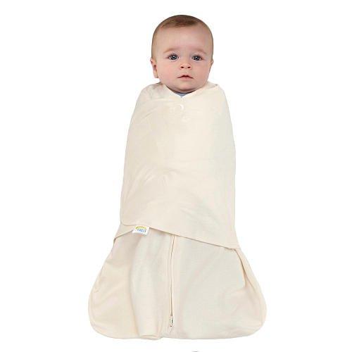 HALO SleepSack Swaddle 100% Cotton Cream