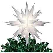 Keystone 12 Illuminated Star Christmas Tree Topper