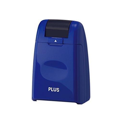 プラス 個人情報保護スタンプ ローラーケシポン ブルー IS-500CM-B BL 37647
