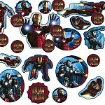 Iron Man '2' Paper Confetti (1 bag)